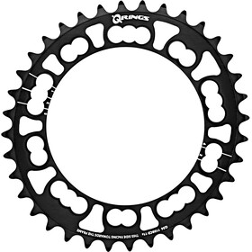 Rotor Q-Ring Road Corona dentata 110mm 5 bracci interno, black